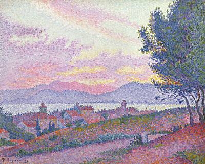 View Of Saint Tropez Art Print