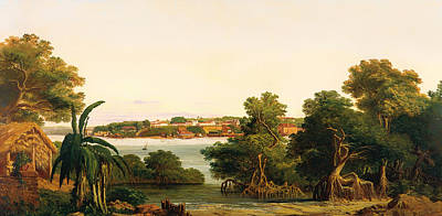 Beautiful Creek Painting - View Of Sao Luis by Mountain Dreams