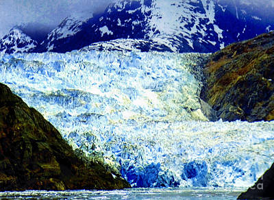 Photograph - View Of Sawyer Glacier by Gena Weiser
