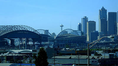 Photograph - View Of Seattle by Judy Wanamaker