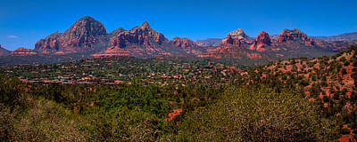 Sedona Photograph - View Of Sedona From The South by David Patterson