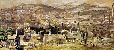View Of Sheffield England Art Print by Granger