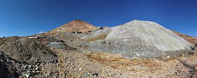 View Of Silver Mine, Inca Trail, Bolivia Art Print