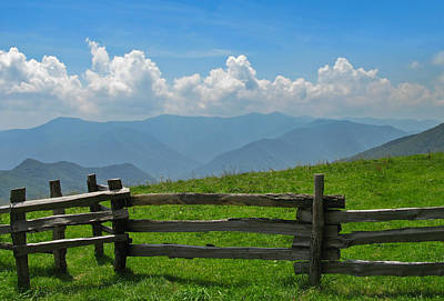 Photograph - View Of Smoky Mountains by Melinda Fawver