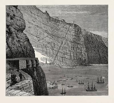 View Of St. Helena Jamestown Art Print