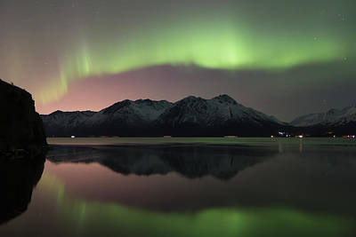 Photograph - View Of The Aurora Borealis Northern by Lucas Payne / Design Pics
