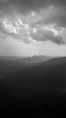 Photograph - View Of The Blue Ridge Mountains And Table Rock From Caesars Head by Kelly Hazel