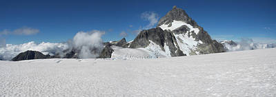 Cold Temperature Photograph - View Of The Bonner Glacier, Mount by Panoramic Images