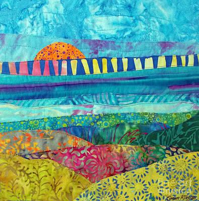 View Of The Bridge Art Print by Susan Rienzo