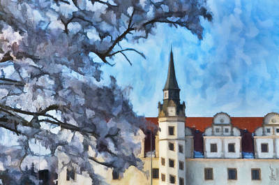 View Of The Castle Art Print by Gynt