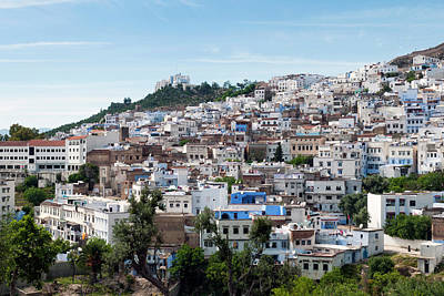 View Of The City, Chefchaouen (chaouen Art Print by Nico Tondini