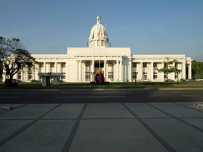 View Of The City Hall, Colombo, Central Art Print by Panoramic Images