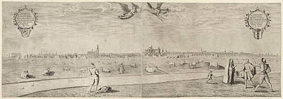 Amsterdam Drawing - View Of The City Of Amsterdam, Taken From The West by Litz Collection