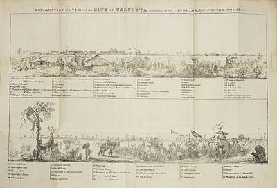 Calcutta Photograph - View Of The City Of Calcutta by British Library