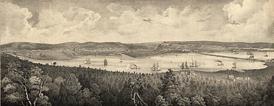 View Of The City Of Washington, The Metropolis Art Print by Litz Collection
