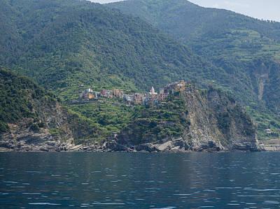 View Of The Corniglia, La Spezia Art Print by Panoramic Images