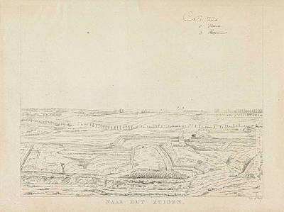 View Of The Countryside South Of Nijmegen Art Print