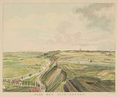 View Of The Countryside Southeast Of Nijmegen Art Print
