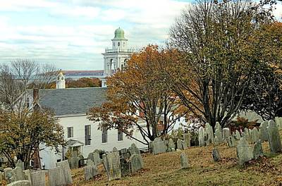 Photograph - View Of The Cupolas From Burial Hill by Janice Drew