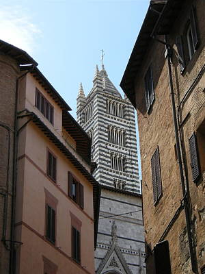 Art Print featuring the photograph View Of The Duomo by Victoria Lakes