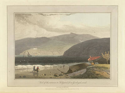 View Of The Entrance To Fishguard Harbour Art Print by British Library