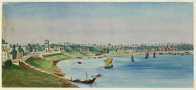 View Of The French Settlement Print by British Library