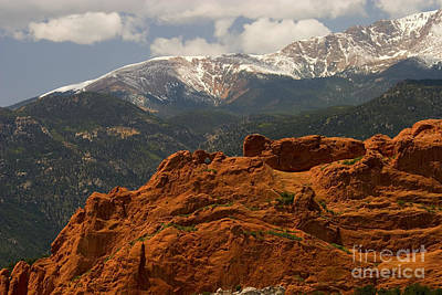 Steven Krull Royalty-Free and Rights-Managed Images - View of the Gods by Steven Krull