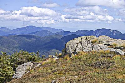 Photograph - View Of The Great Range From Algonquin by David Seguin North Creek Designs