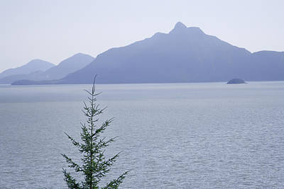 View Of The Howe Sound In British Columbia Art Print by Randall Nyhof