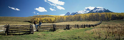 View Of The Last Dollar Ranch, Mount Art Print by Panoramic Images
