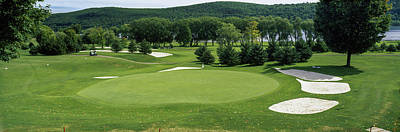Cooperstown Photograph - View Of The Leatherstocking Golf by Panoramic Images
