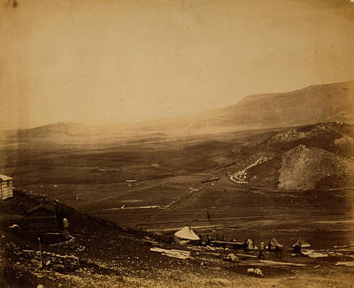 View Of The Lines Of Balaclava From Guards Hill Canroberts Art Print by Quint Lox