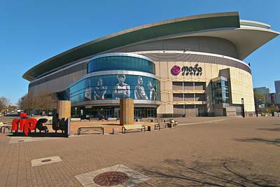Moda Photograph - View Of The Moda Center, Portland by Panoramic Images
