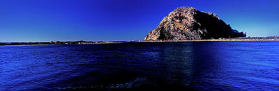 Morro Bay Photograph - View Of The Morro Rock, Morro Bay, San by Panoramic Images