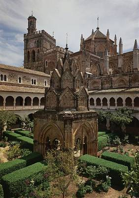 Religious Architecture Photograph - View Of The Mudejar Cloister Photo by .
