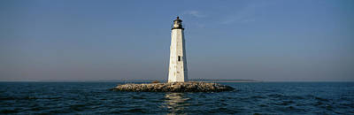 Chesapeake Bay Photograph - View Of The New Point Comfort by Panoramic Images