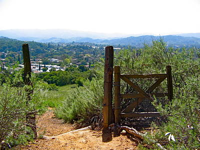 Photograph - View Of The Ojai Valley by Denise Mazzocco