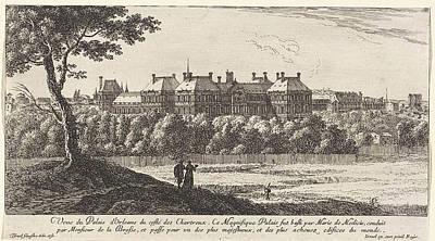 Palais Du Luxembourg Wall Art - Drawing - View Of The Palais Du Luxembourg In Paris by Isra?l Silvestre
