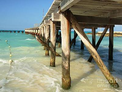 Sea View Photograph - View Of The Pier by Cristina Stefan