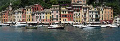 View Of The Portofino, Liguria, Italy Art Print