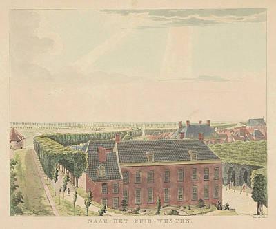 View Of The Rampart Southwest Of Nijmegen Art Print