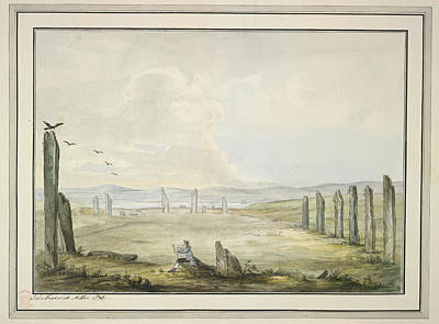 Joseph Photograph - View Of The Ring Of Brodgar by British Library