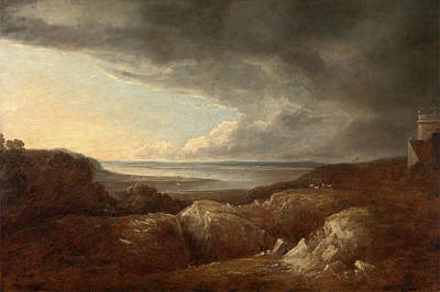 Barker Painting - View Of The River Severn, Near Kings Weston by Litz Collection