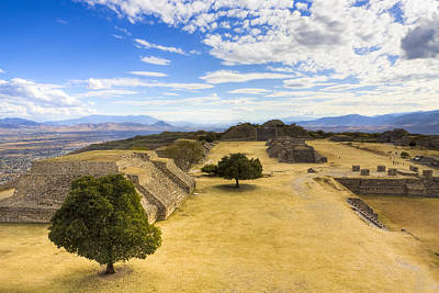 Photograph - View Of The Zapotec In Oaxaca by Mark E Tisdale
