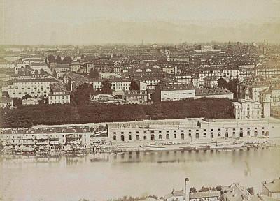 View Of Turin, Italy, Anonymous Art Print by Artokoloro