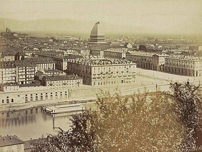 View Of Turin, Torino Piedmont Italy, Anonymous Art Print by Artokoloro