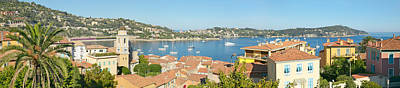 View Of Villefranche Sur Mer, French Art Print by Panoramic Images
