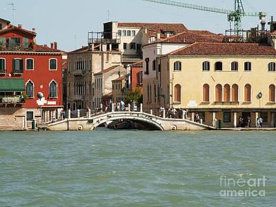 View On Venice Art Print by Evgeny Pisarev