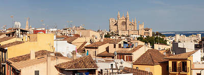 View Over The Old Town Of Palma Art Print