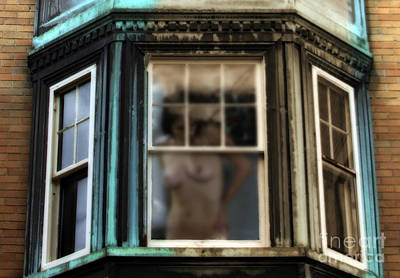 Nudes Photograph - View Through A Window  by Steven Digman